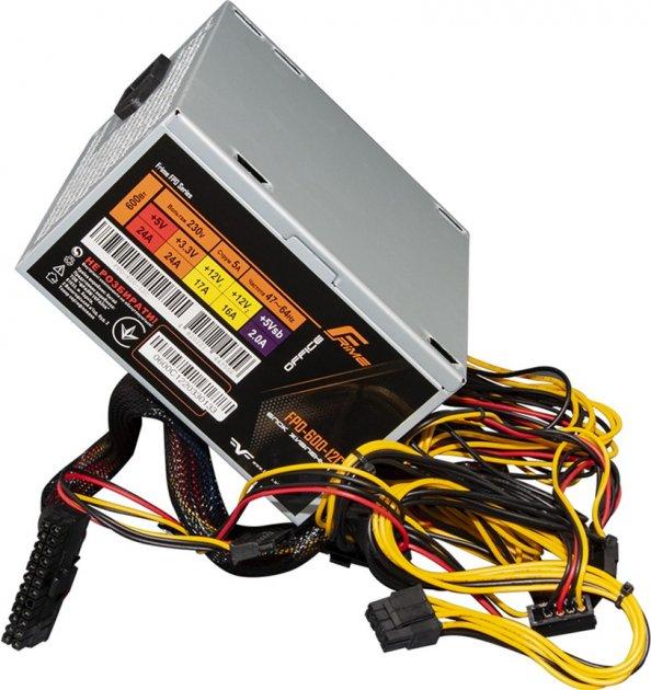 Блок живлення Frime FPO-600-12C OEM (без кабелю живлення) - зображення 1