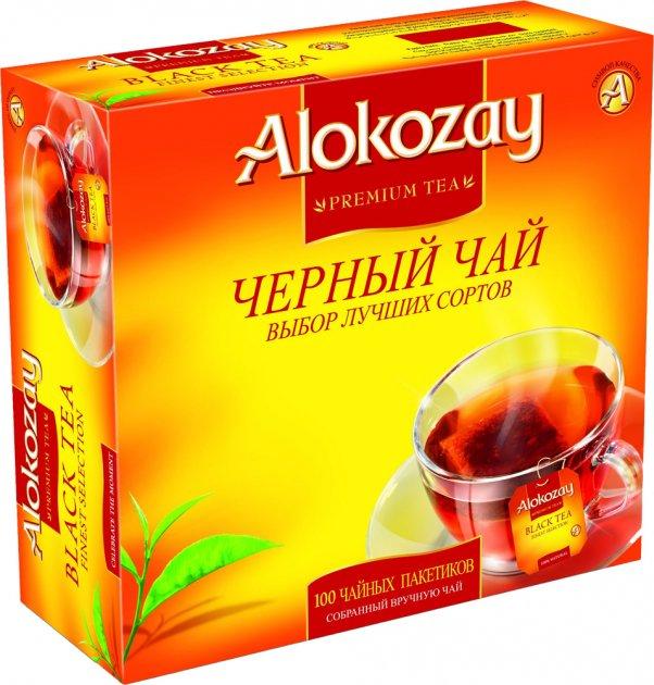 Чай черный Alokozay пакетированный 100 шт х 2 г (4820229040368) - изображение 1