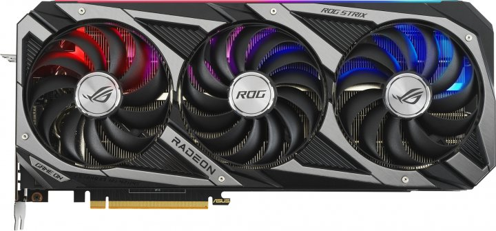 Asus PCI-Ex Radeon RX 6800 ROG Strix Gaming OC 16GB GDDR6 (256bit) (1980/16000) (HDMI, 3 x DisplayPort) (ROG-STRIX-RX6800-O16G-GAMING) - изображение 1
