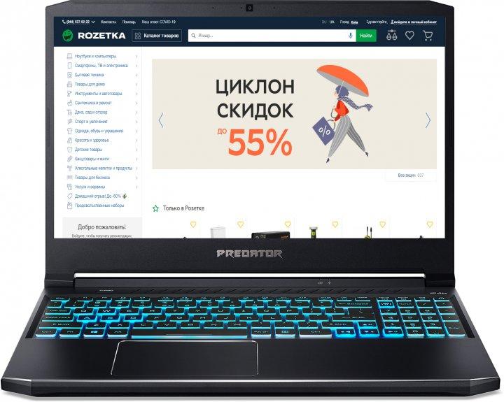 Ноутбук Acer Predator Helios 300 PH315-53-59HQ (NH.Q7ZEU.006) Abyssal Black Суперцена!!! - изображение 1