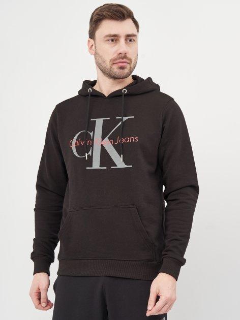Худи Calvin Klein Jeans 10468 S (44) Черный - изображение 1