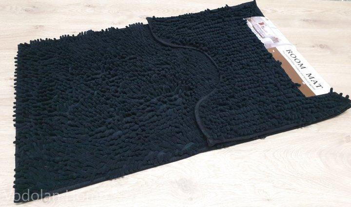 Набір килимків у ванну локшина Room Mat 60 х 90 см чорний (0200) - зображення 1