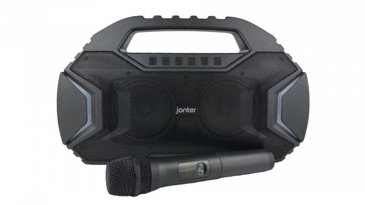 Колонка Bluetooth JONTER M100 + микрофон караоке - изображение 1