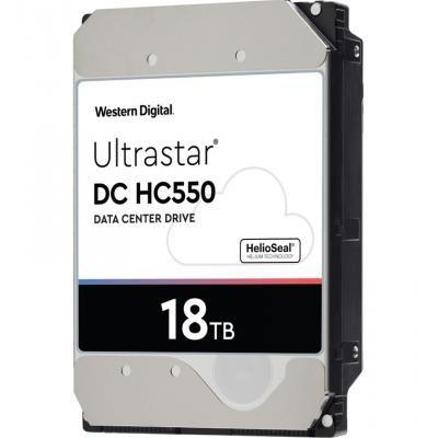 "Жорсткий диск Western Digital Ultrastar DC HC550 18TB 7200rpm 512MB WUH721818ALE6L4 3.5"" SATA III - зображення 1"