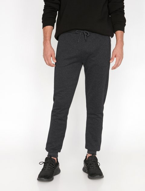 Спортивні штани Koton 0KAM41583LK-045 S Antracite (8681970223921) - зображення 1