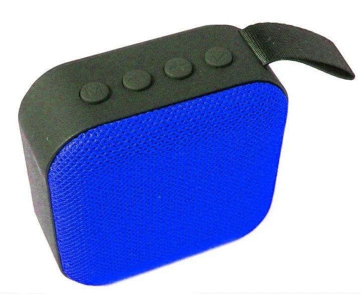 Портативная Bluetooth колонка T5 Синяя 0564 - изображение 1