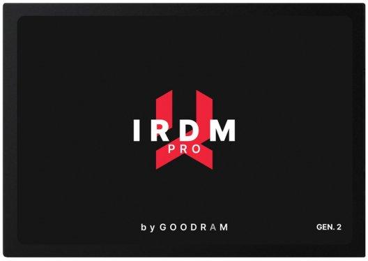 "Goodram IRDM Pro Gen.2 512GB 2.5"" SATAIII 3D TLC (IRP-SSDPR-S25C-512) - зображення 1"