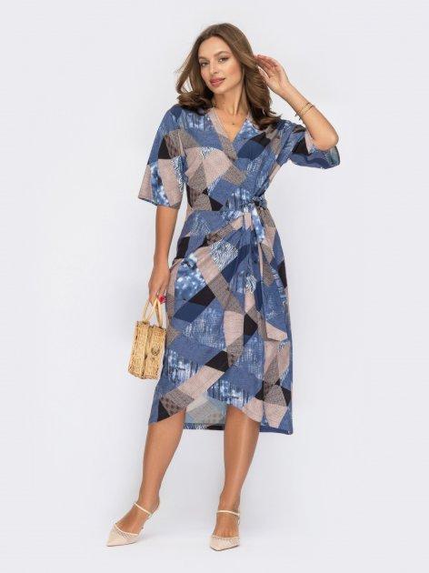 Платье Dressa 53840 44 Темно-синее (2000405742800_D) - изображение 1