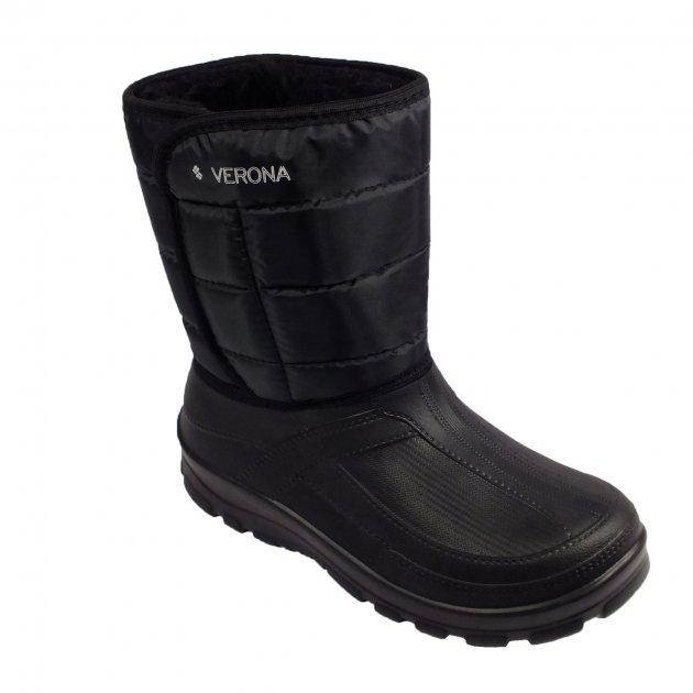 Дутики мужские Verona 43 Черные - изображение 1