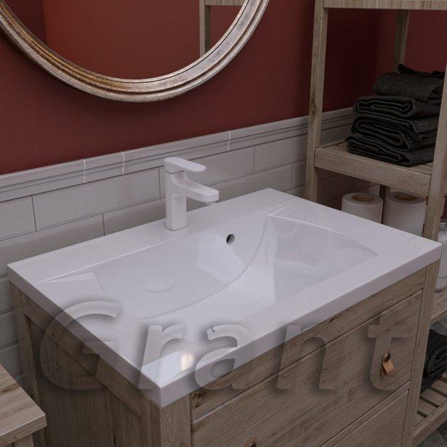 Умывальник в ванную Connect 700 белый - изображение 1