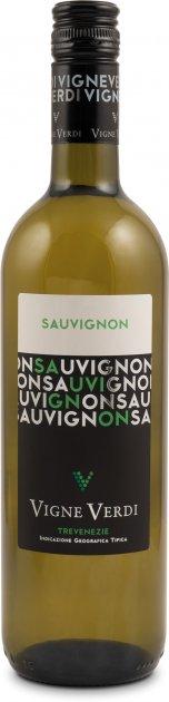 Вино Vigno Verdi Sauvignon IGT белое сухое 0.75 л 11.5% (8010719010933) - изображение 1