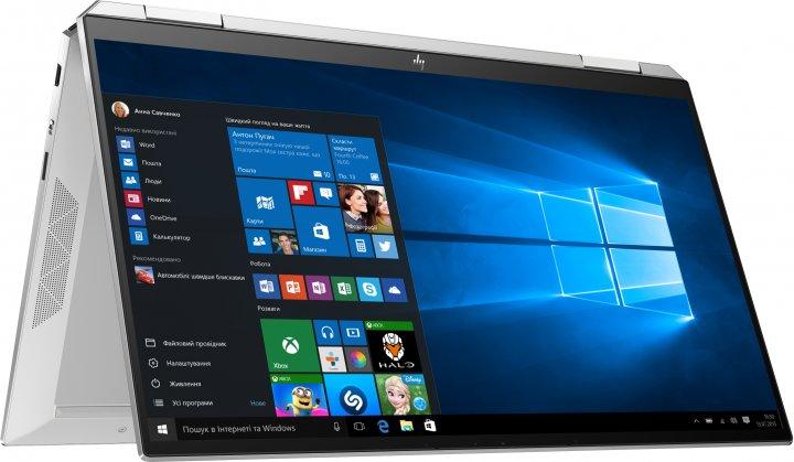 Ноутбук HP Spectre x360 Convertible 13-aw2005ua (423T6EA) Silver - зображення 1