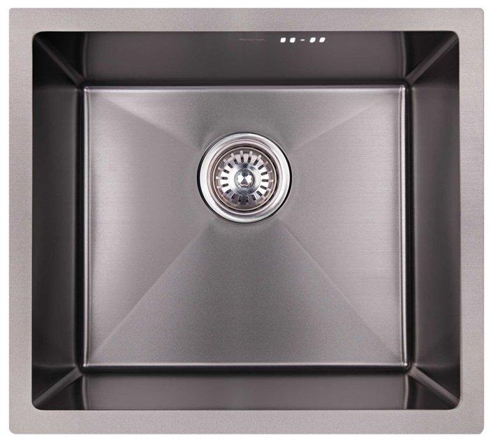Кухонна мийка Imperial D4843BL PVD black Handmade 2.7/1.0 мм - зображення 1