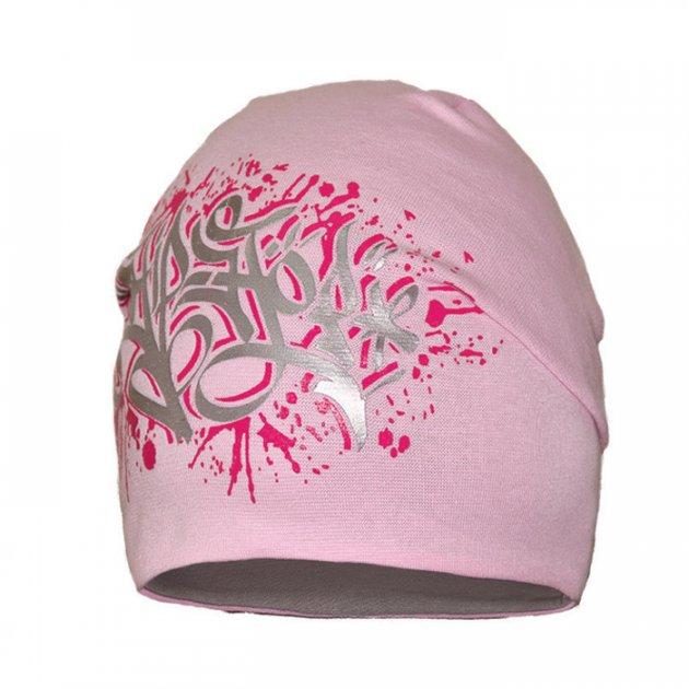 Шапка демисезонная Девид стар 52/54 Розовый 3065 - изображение 1