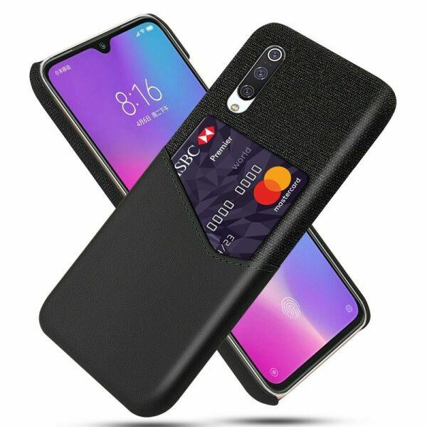 Захисний чохол KSQ Business Pocket для Xiaomi Mi CC9 / Mi 9 Lite - Black - зображення 1