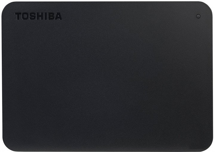 "Жесткий диск Toshiba Canvio Basics 4TB HDTB440EK3CA 2.5"" USB 3.0 External Black - изображение 1"