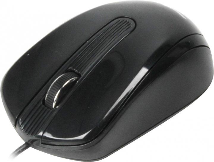 Миша Maxxter Mc-325 USB Black - зображення 1