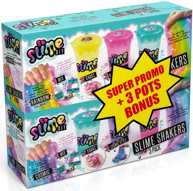 Игрушка для развлечений Canal Toys Slime Твой собственный Лизун bonus pack (SSC019) (3555801358197)