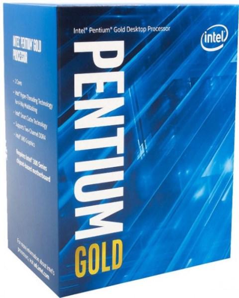 Процесор CPU DС Pentium Gold G6400 4.0GHz/4MB/14nm/58W/Intel UHD 610 (BX80701G6400) s1200 BOX - зображення 1
