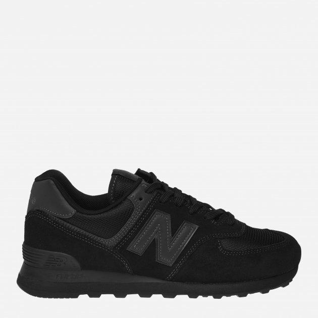 Кросівки New Balance 574 ML574ETE 40 (7.5) 25.5 см Чорні (798248907761) - зображення 1
