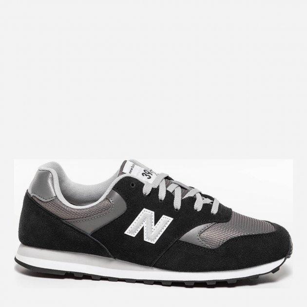 Кросівки New Balance 393 ML393SM1 49 (15) 33 см Чорні (739980527220) - зображення 1