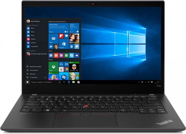 Ноутбук Lenovo ThinkPad T14s Gen 2 (20WM0045RT) Villi Black - зображення 1