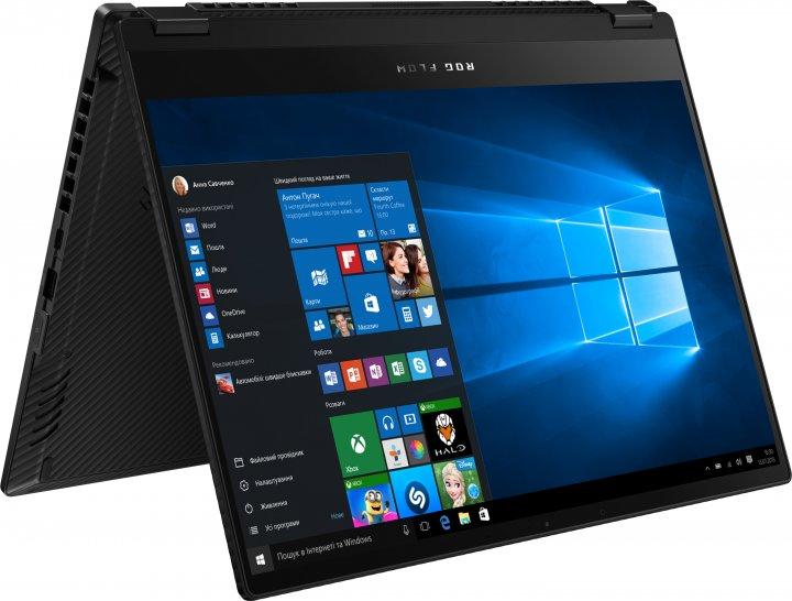 Ноутбук Asus ROG Flow X13 GV301QH-K5228T (90NR06C5-M11210) Off Black-Supernova Edition + ROG XG Mobile - зображення 1