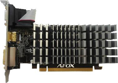 AFOX PCI-Ex Radeon HD 5450 1GB DDR3 (64bit) (650/1066) (DVI, VGA, HDMI) (AF5450-1024D3L9-V2) - зображення 1