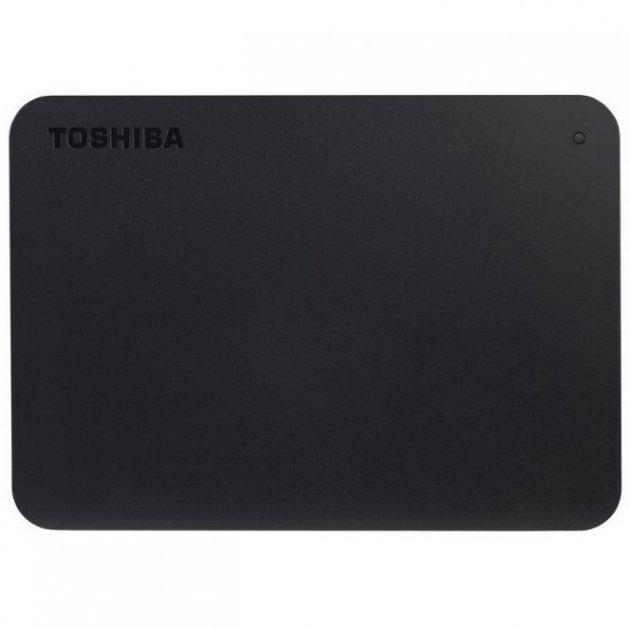 """Зовнішній жорсткий диск Toshiba 500ГБ 2.5"""" USB 3.0 чорний (HDTB405EK3AA) - зображення 1"""