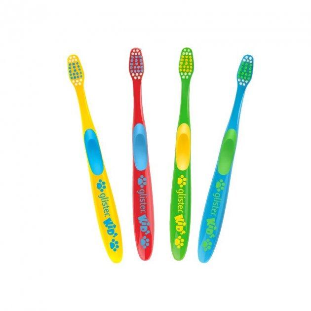 Зубные щетки для детей набор Amway Glister kids 4шт (120522) - изображение 1