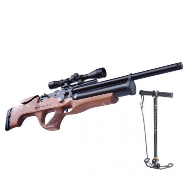 Гвинтівка пневматична Kral Nemesis Wood PCP + НАСОС !!! - зображення 1