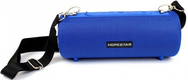 Портативная Bluetooth колонка Hopestar H39 с влагозащитой Синяя - изображение 1