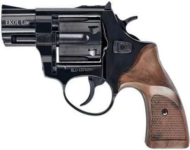 Сигнальный револьвер EKOL Lite Mate Black (Pocket) - изображение 1