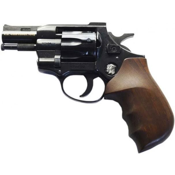 """Револьвер под патрон Флобера Weihrauch HW4 2,5"""" с деревянной рукоятью - изображение 1"""