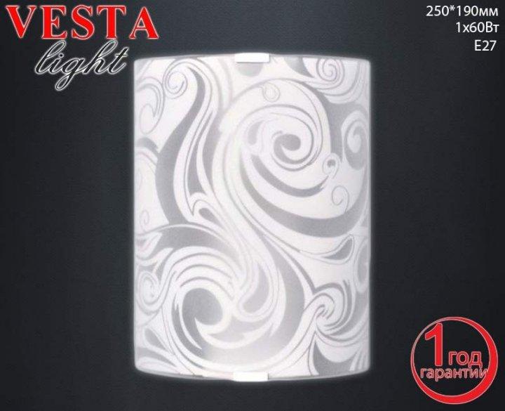Бра Vesta Light (22322) Серебро - изображение 1