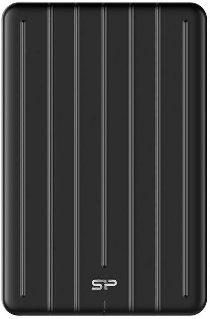 Silicon Power Bolt B75 Pro 512GB 2.5 USB 3.2 Type-C External Black (SP512GBPSD75PSCK) - зображення 1