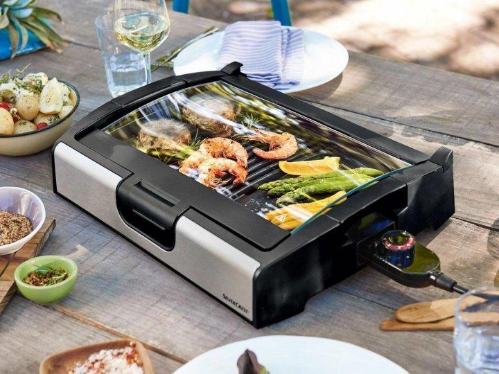 Гриль контактний SilverCrest STGG 1800 A1 Tisch-grill - зображення 1