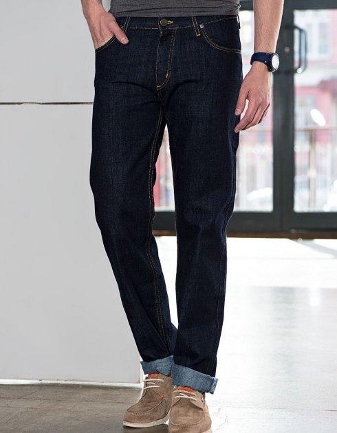 Джинси Lee Brooklyn Comfort Regular Classic Straight (L812AT45) Темно-синій 42-34 - зображення 1