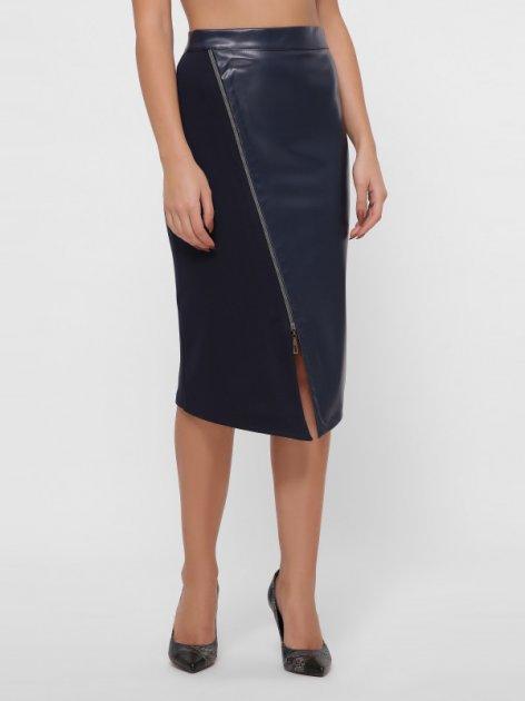 Юбка Fashion Up YUB-1044B XL (48) Темно-синяя (2100000235117) - изображение 1