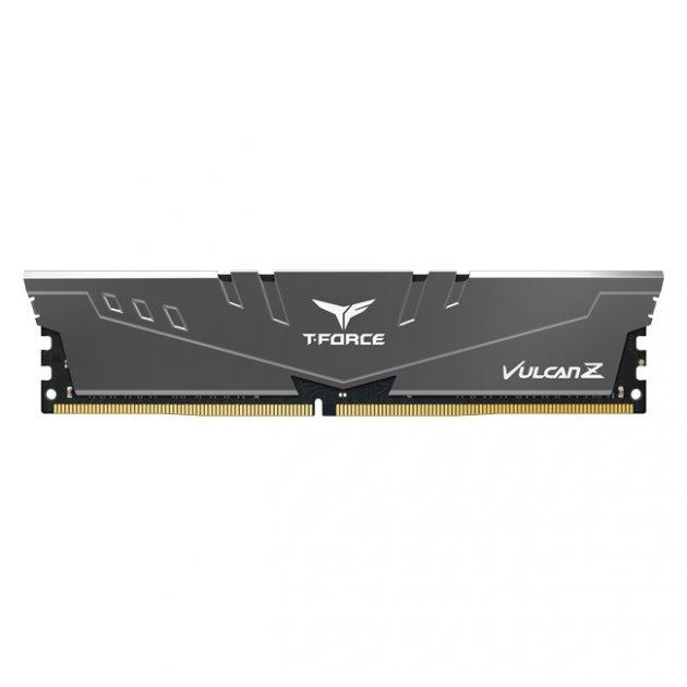 Модуль пам'яті DDR4 16GB/2666 Team T-Force Vulcan Z Gray (TLZGD416G2666HC18H01) - зображення 1