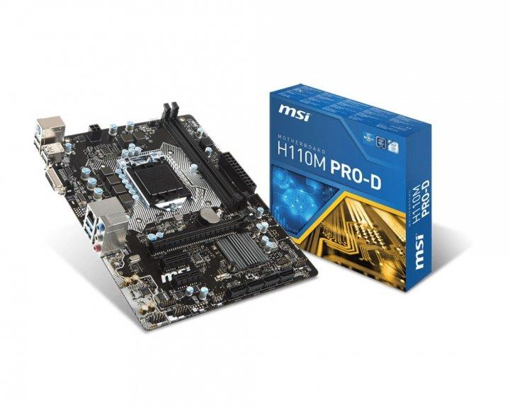 MSI H110M PRO-D Socket 1151 - зображення 1