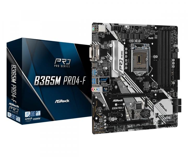 Материнская плата ASRock B365M Pro4-F (s1151, Intel B365, PCI-Ex16) - изображение 1