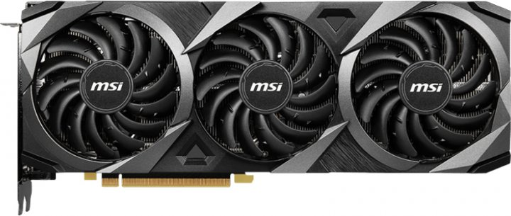 MSI PCI-Ex GeForce RTX 3080 Ti VENTUS 3X 12G OC 12GB GDDR6X (384bit) (1695/19000) (HDMI, 3 x DisplayPort) (GeForce RTX 3080 Ti VENTUS 3X 12G OC) - зображення 1