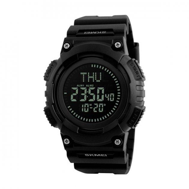 Спортивні електронні годинники Skmei 1259 Black (1259BOXBK) - зображення 1