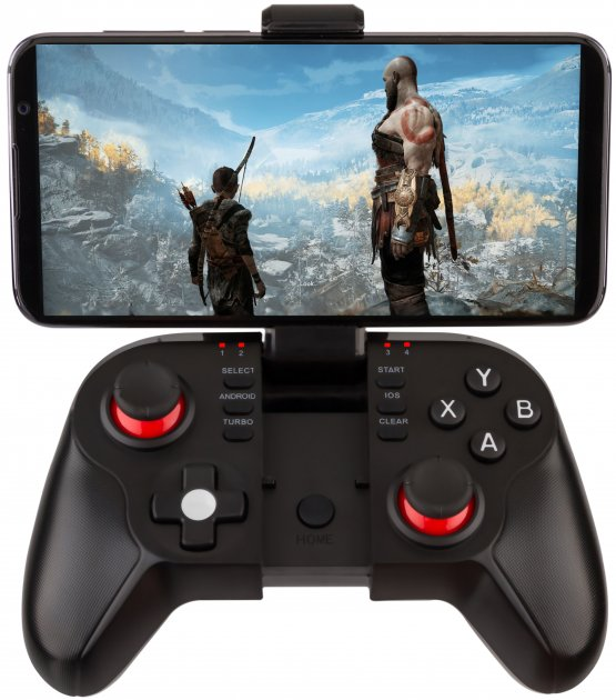 Беспроводной геймпад GamePro Bluetooth Android/iOS Black (MG680) - изображение 1