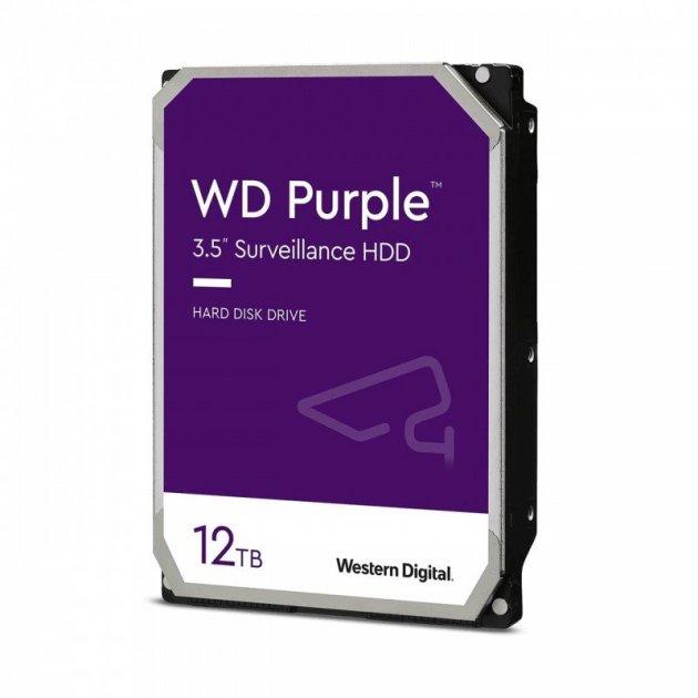 Жорсткий диск WD Purple 12 TB (WD121PURZ) - зображення 1