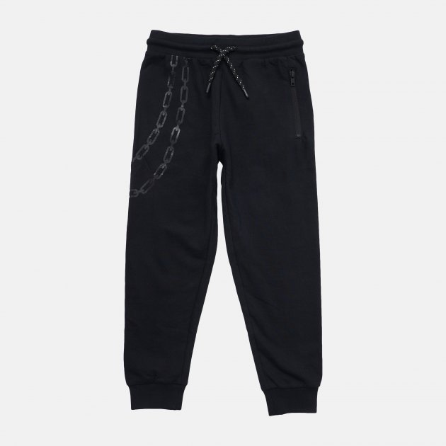 Спортивные штаны Reporter Young 211-0117B-01-100-1 140 см Черные (5900703700113) - изображение 1
