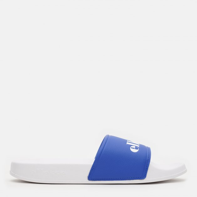 Шлепанцы Ellesse Filippo Synt Am 617187-BLUWHT 47 (12 UK) 30 см Белые с синим (5059502096443)