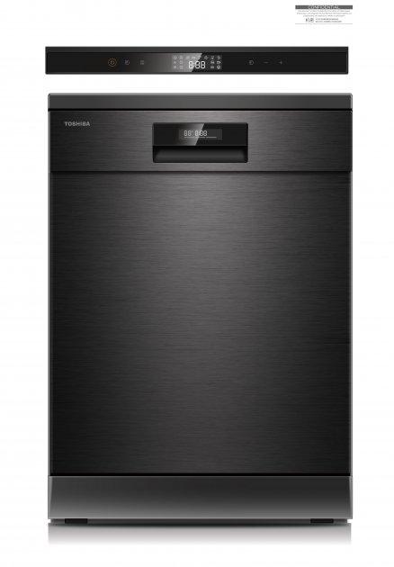 Посудомоечная машина Toshiba DW-14F2CIS(BS)-UA - изображение 1