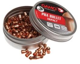 Пульки Gamo PBA Bullet 0.46 г 125 шт 4.5 мм (6322720) - изображение 1